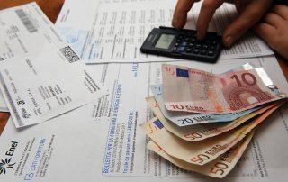 Bollette del telefono e soldi